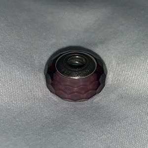 Purple Pandora Spacer Charm